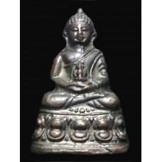 กริ่งหลังตรง วัดธรรมมงคล รุ่นแรก ปี 2510 Bell Amulet, Straight age, First generation, Made from Mixed Metal , B.E.2510 , Master Teacher of meditation, Phra Dhammongkolyarn, Luangphor Viriyang Sirintharo (Believe that Wealth, Lucky, Fortune will be)