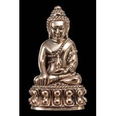 พระกริ่งเจ้าสัว เยาวราช เนื้อนวะแก่ทองคำ ก้นเงิน นำฤกษ์ สร้าง 888 องค์