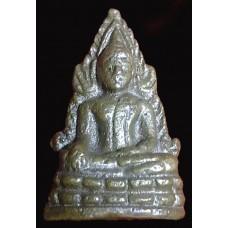 พระพุทธชินราช อินโดจีน พิมพ์ต้อ มีโค๊ด ปี 2485