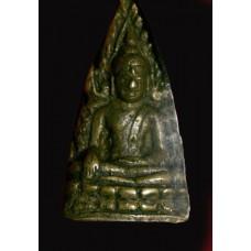 พระพุทธชินราช อินโดจีน สังฆาฏิสั้น หน้าเสาร์ห้า มีโค๊ด  (นิยม) ปี 2485