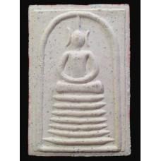 พระสมเด็จ เนื้อผงไม้เท้า หลวงปู่มั่น รุ่นแรก จัดสร้างโดย วัดธรรมมงคล หลวงพ่อวิริยังค์ ปี 2541